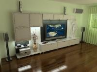 Мебельная горка в современном дизайне z300228
