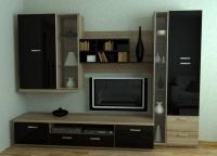 Красивая мебельная стенка z300248