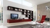 Современная мебельная стенка в стиле хай-тек z300399
